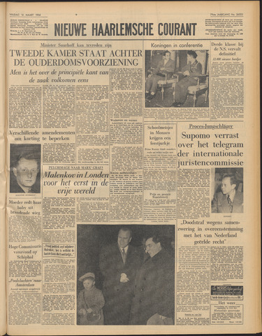 Nieuwe Haarlemsche Courant 1956-03-16