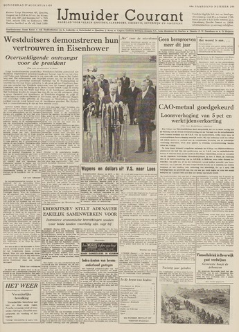 IJmuider Courant 1959-08-27