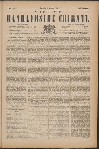 Nieuwe Haarlemsche Courant 1889-01-09