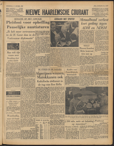 Nieuwe Haarlemsche Courant 1963-10-17