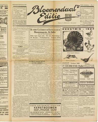 Bloemendaal's Editie 1927-12-24