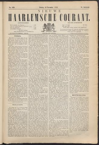 Nieuwe Haarlemsche Courant 1884-11-16