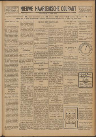 Nieuwe Haarlemsche Courant 1931-04-15