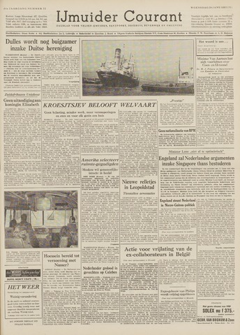 IJmuider Courant 1959-01-28