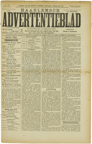 Haarlemsch Advertentieblad 1888-09-29