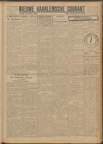 Nieuwe Haarlemsche Courant 1923-10-19