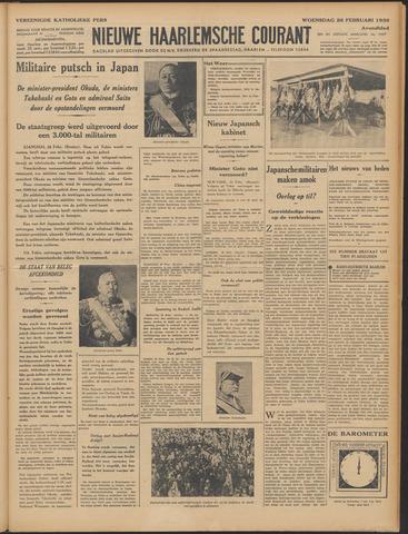 Nieuwe Haarlemsche Courant 1936-02-26