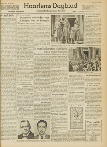 Haarlem's Dagblad 1950-05-02