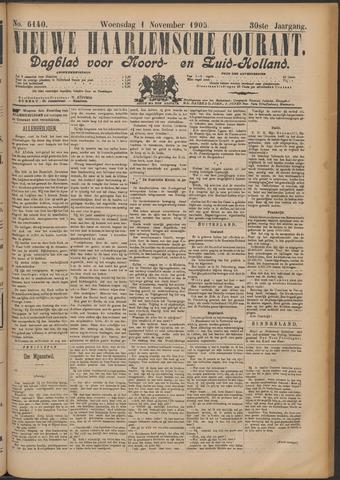 Nieuwe Haarlemsche Courant 1905-11-01