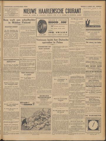 Nieuwe Haarlemsche Courant 1940-01-24