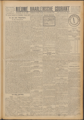 Nieuwe Haarlemsche Courant 1924-06-12