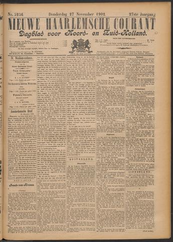 Nieuwe Haarlemsche Courant 1902-11-27