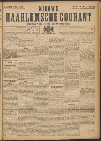 Nieuwe Haarlemsche Courant 1906-10-08