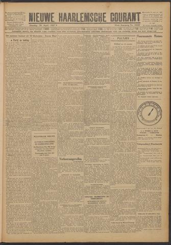 Nieuwe Haarlemsche Courant 1927-04-19