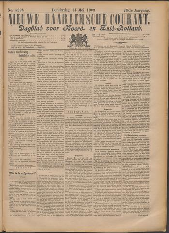 Nieuwe Haarlemsche Courant 1903-05-14