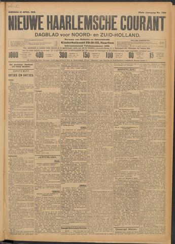Nieuwe Haarlemsche Courant 1910-04-12