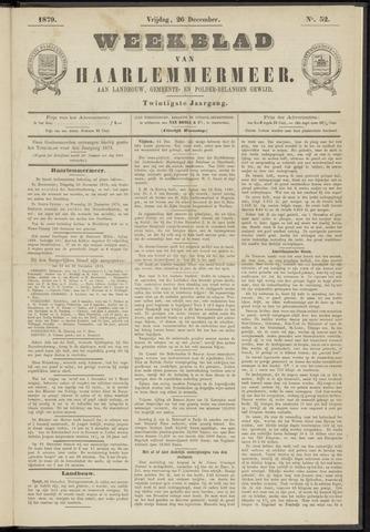 Weekblad van Haarlemmermeer 1879-12-26