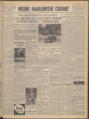 Nieuwe Haarlemsche Courant 1952-06-12