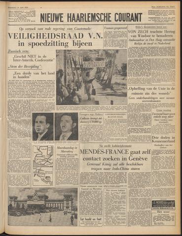 Nieuwe Haarlemsche Courant 1954-06-21