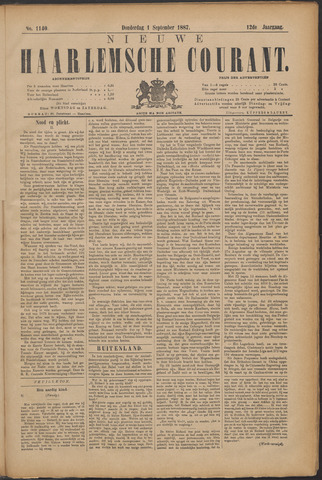 Nieuwe Haarlemsche Courant 1887-09-01
