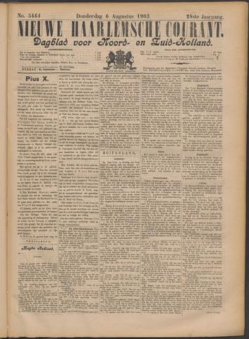 Nieuwe Haarlemsche Courant 1903-08-06
