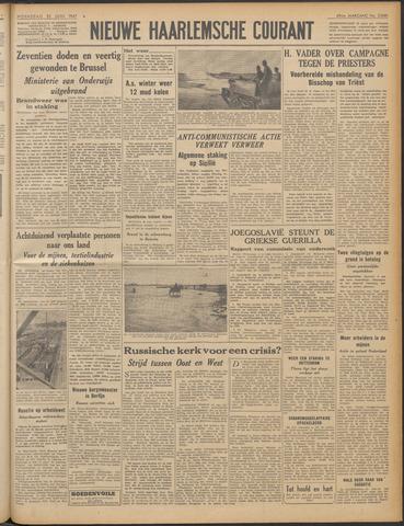 Nieuwe Haarlemsche Courant 1947-06-25