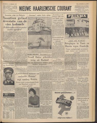 Nieuwe Haarlemsche Courant 1958-02-13