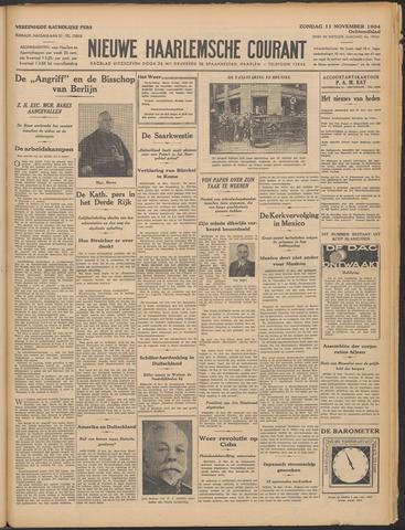 Nieuwe Haarlemsche Courant 1934-11-11