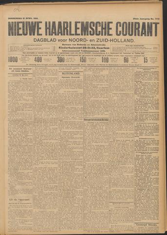 Nieuwe Haarlemsche Courant 1910-04-21