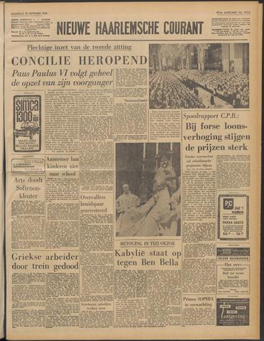 Nieuwe Haarlemsche Courant 1963-09-30