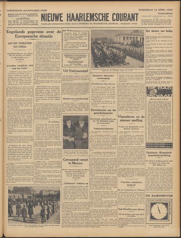 Nieuwe Haarlemsche Courant 1935-04-10