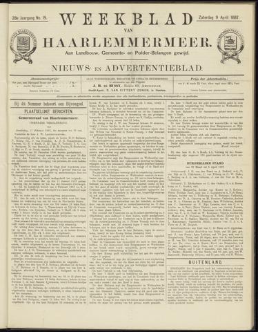 Weekblad van Haarlemmermeer 1887-04-09