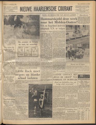 Nieuwe Haarlemsche Courant 1958-08-19