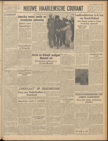 Nieuwe Haarlemsche Courant 1947-06-19