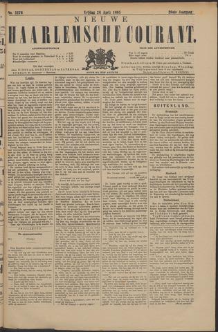 Nieuwe Haarlemsche Courant 1895-04-26