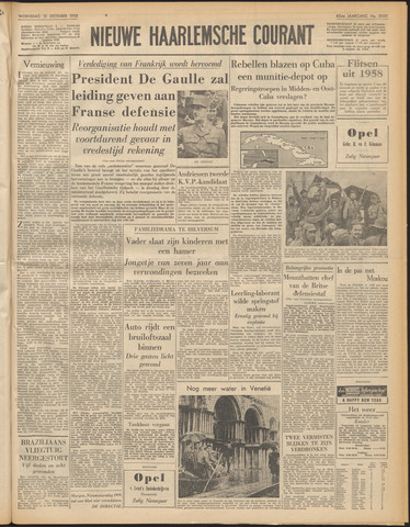 Nieuwe Haarlemsche Courant 1958-12-31