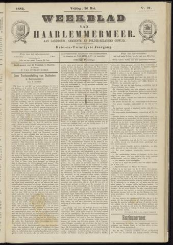 Weekblad van Haarlemmermeer 1882-05-26