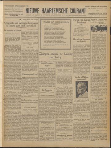 Nieuwe Haarlemsche Courant 1940-11-01
