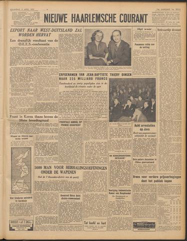 Nieuwe Haarlemsche Courant 1951-04-09