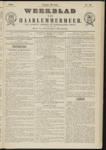 Weekblad van Haarlemmermeer 1882-07-28