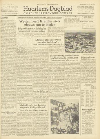 Haarlem's Dagblad 1954-09-11