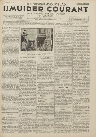 IJmuider Courant 1938-04-21