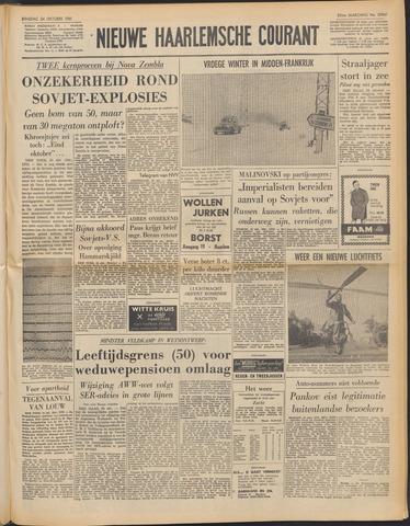 Nieuwe Haarlemsche Courant 1961-10-24