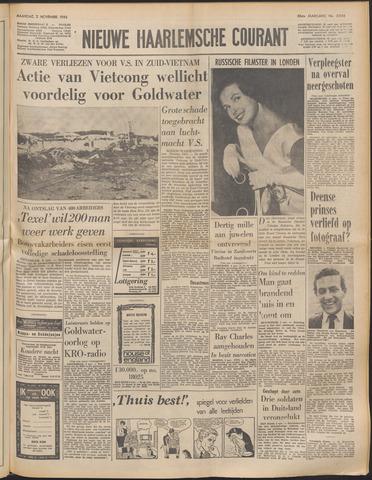 Nieuwe Haarlemsche Courant 1964-11-02