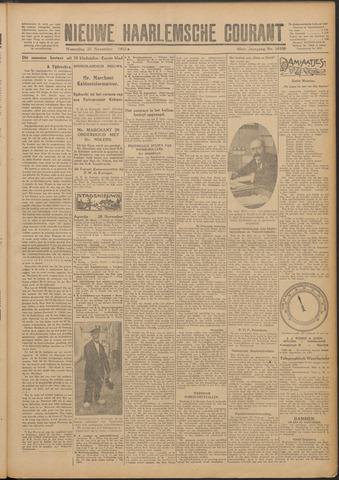 Nieuwe Haarlemsche Courant 1925-11-25