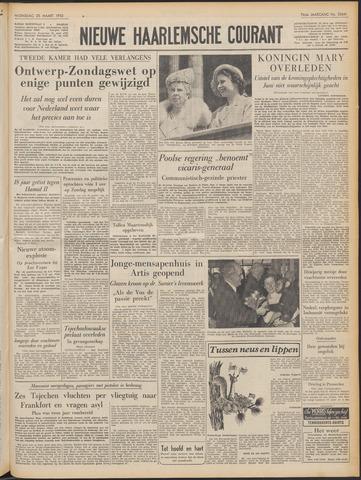 Nieuwe Haarlemsche Courant 1953-03-25