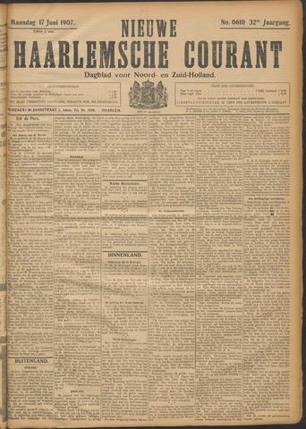 Nieuwe Haarlemsche Courant 1907-06-17