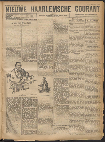 Nieuwe Haarlemsche Courant 1921-08-11