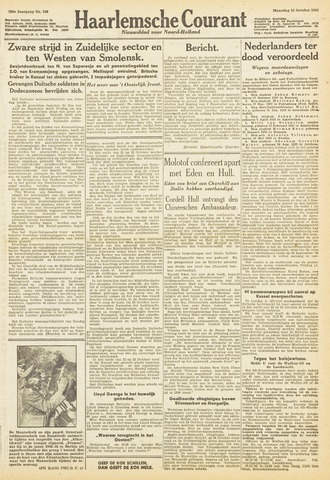 Haarlemsche Courant 1943-10-25