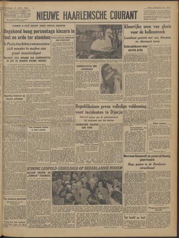 Nieuwe Haarlemsche Courant 1948-04-19